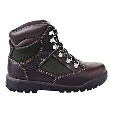 Timberland 6 Inch Field Big Kids Boots Dark Brown-Green tb0a1pn3