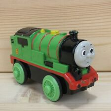 MOTORIZED PERCY - THOMAS & FRIENDS WOODEN TRAIN ENGINE - 2002 LEARNING CURVE