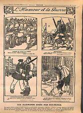 Humour Feldgrauen Deutsches Heer Pickelhaube Prussia Germania Boches WWI 1916