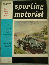 Sporting Motorist May 1960 Syracuse GP, Renault Gordini Dauphine