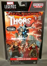 """DEFENDERS OF ASGARD LADY THOR ODINSON 2-Pack Comic Pack Marvel 3.75"""""""
