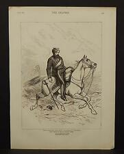 The Graphic Single Page B1#40 Oct 1875 Anniversary of the Balaklava Charge