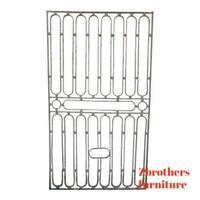 Antique Victorian Iron Gate Window Garden Fence Architectural Salvage #855