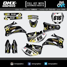 YAMAHA YZF 250 YZF 450 4-stroke decals graphics stickers kit 2008 FLY
