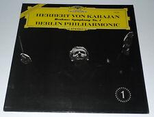 BRAHMS LP SYMPHONY NO.1 EXCL KARAJAN BERLIN PHILHARMONIC UK PRESSING DG 138924
