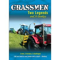 Grassmen Two Legends And A Donkey DVD New/Tractors/Ireland/UK/Country/Farming