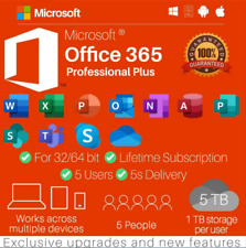 ✔️⭐🔥MS®Officé365 2019 Pro 🔥 Lifetime Account 🔥 For Mac Win 1TB Cloud 5TB 🔥⭐