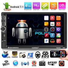 "VODOOL Quad Core Android Navi 3G WIFI 7"" 2 DIN Car Radio estéreo MP5 GPS Player"