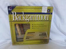 Nuevo Backgammon Madera Juego de Mesa 2 Jugadores de Inteligencia (Caja Es