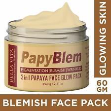 Bella Vita Organic Pigmentation Blemish Removal Face Pack with Papaya-60 gm