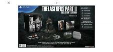 Die Letzten von uns Teil II 2 Collector's Edition ps4 Playstation 4 + Ellie Statue