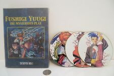 FUSHIGI YUGI THE MYSTERIOUS PLAY SEIRYU BOX 3 Disc DVD SET Anime Cartoon Rare !