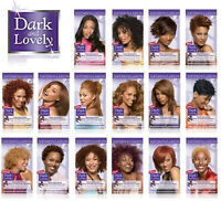2X Dark and Lovely Permanent Hair Colour Dye All Colours