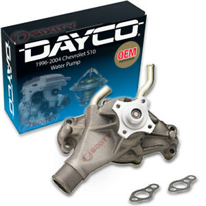 Dayco Engine Water Pump for 1996-2004 Chevrolet S10 4.3L V6 Coolant hj