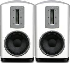 Quad Z-2 Speakers Z2 - Piano White Loudspeaker Pair Hi-fi Best Audiophile