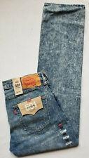 Levis 501 Original Fit Straight Leg Mens Jeans Blue 34x34 W34/L34 #005012715