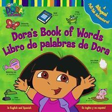 Dora's Book of Words  Libro de Palabras de Dora : A Bilingual Pull-Tab Adventure