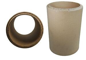 Schamotterohr 13,5, 16 cm 18&20cm 33cm lang Schamottenrohr Ofenrohr Keramikrohr