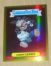 2013 Topps Garbage Pail Kids GPK CHROME OS1 GOLD refractor Loony LENNY /50 #17b