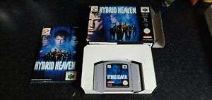 Hybrid Heaven Nintendo N64 PAL - Boxed with Manual and Tray RARE COMPLETE CIAB