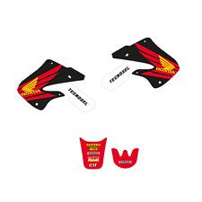 kit adesivi completi con coprisella grafiche Team Honda Cr 125 250 1997 98 1999