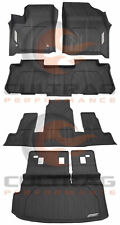 2018 2019 Traverse Front & 2nd & 3rd Row & Cargo 7 Pass All Weather Floor Liners