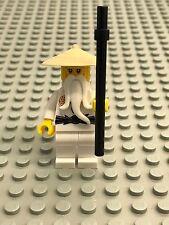LEGO Ninjago Minifig -  Sensei Wu - Tan Hat 70626