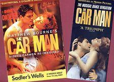 Set THE CAR MAN MATTHEW BOURNE Theatre Flyer Handbills