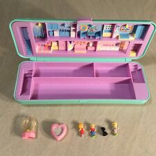 Polly Pocket Mini Pencil Case Stifte Box Bluebird 1990