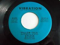 Sylvia Pillow Talk / My Thing 45 1973 Vibration Vinyl Record