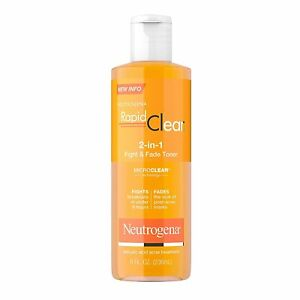 Rapid Clear 2-in-1 Fight and Fade Toner(236ml) From Neutrogena,Free Shipping