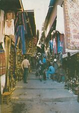 "*Jerusalem Postcard-""Vendors & Visitors @ The Market"""