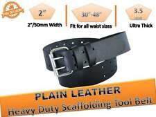 Scaffolding Work Belt Tool Belt Heavy Duty Top Quality Black Leather Tool Pouch