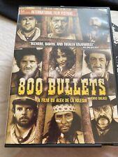 dvd 800 BULLETS Spanish/ English Subtitles