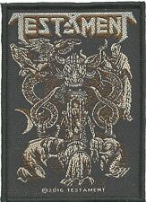 TESTAMENT brotherhood 2016 - WOVEN SEW ON PATCH official merchandise