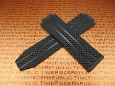 New Black Hublot Rubber Strap Watch Band Big Bang 44mm 44.5mm Case U 24mm Buckle