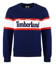Timberland Classic Kids Sweatshirt Navy/Red Boys All Sizes