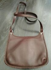 Coach Brown Leather Vintage Hippie Crossbody Bag 9142