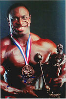 Lee Haney Signed 4x6 Inch Photo 8X Mr. Olympia IFBB Bodybuiler Ronnie Coleman
