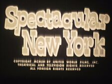 16 mm B & W  Sound  Castle Films 1956 Spectacular New York
