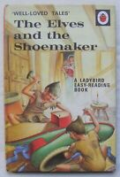 Vintage Ladybird Book – The Elves and the Shoemaker – 606D – 2'6 – Very Good