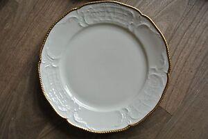 Rosenthal Sanssouci Frühstücksteller elfenbein Gold
