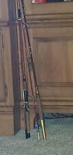 Vintage Heddon Old Bass Fishing rods Pal Lures Mens Cabin Estate Lot Rare Used