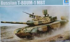 TRUMPETER® 09526 Russian T-80UM-1 MBT in 1:35