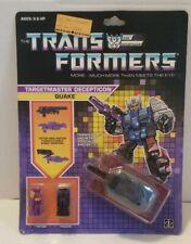 Transformers G1 Targetmaster Quake MOSC AFA Worthy