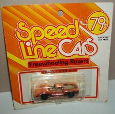 Aurora Speedline Freewheeling Racers #6811 DINO FERRARI - MINT ON CARD - pink