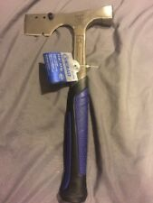 Kobalt Roofing Shingles Hatchet 0117458 Hammer Blue Nylon grip 14 Oz