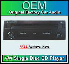 VW Single CD player, Volkswagen Polo GAMMA/BETA Radio Cassette
