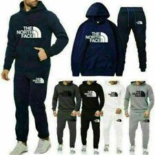 Herren 2Pcs Jogging Anzug Sweatshirt Hosen Trainingsanzug Hoodie Sportanzug 2021