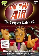 GERRY ANDERSON - ON THE AIR - COMPLETE SERIES 1-3 DVD